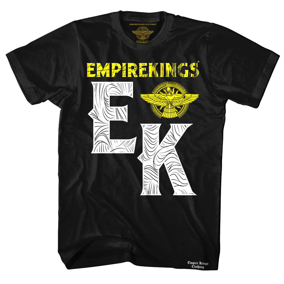Empire Kings Brushed Pattern