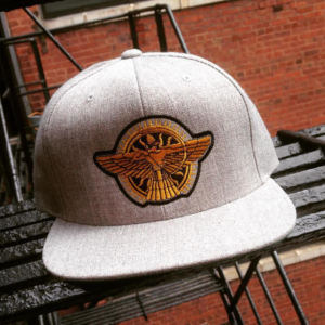 EK Logo Snapback Heather Grey